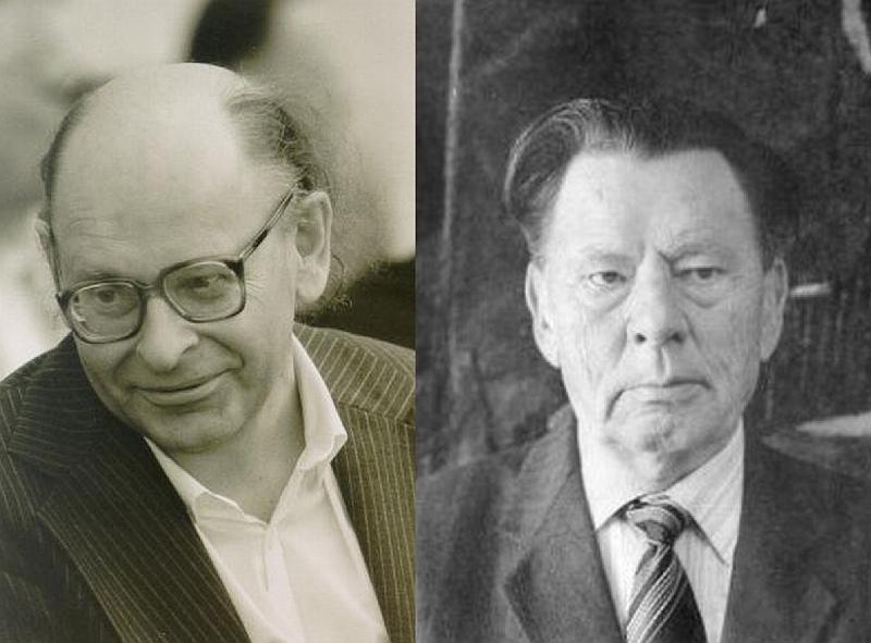 Poetai Jonas Strielkūnas ir Paulius Drevinis