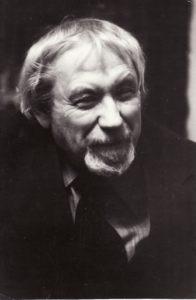 Juozas Miltinis. 1977 m. Fotogr. Valerijaus Koreškovo. JMC fondas