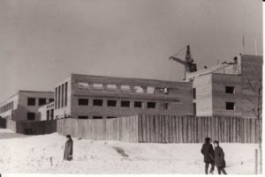 Teatro statyba. 1966 m. Fotogr. Kazimiero Vitkaus. PAVB FKV-342/25
