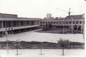 Panevėžio dramos teatras 1983 m. Fotogr. Kazimiero Vitkaus. PAVB FKV-349/17