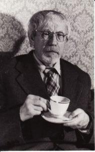 Juozas Miltinis. 1989 m. Fotogr. Kazimiero Vitkaus. PAVB FJM-1015/40