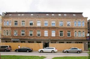 """Buvęs """"Rambyno"""" viešbutis (Respublikos g. 36) 2018 m. Fotogr. Stasio Povilaičio. JMC fondas"""