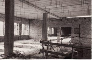 Panevėžio dramos teatro statyba. Fotogr. Kazimiero Vitkaus. PAVB FKV-342/22