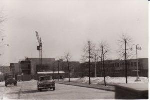 Teatro statyba. 1966 m. Fotogr. Kazimiero Vitkaus. PAVB FKV-342/15