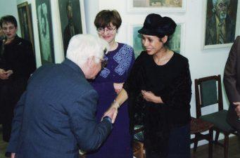 Susitikimas su Prancūzijos ambasados Lietuvoje kultūros atašė Corinne Micaelle (dešinėje)