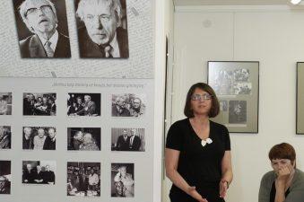 Panevėžio miesto kultūros skyriaus vedėja Loreta Krasauskienė