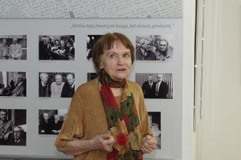 Aktorė Regina Hokušaitė