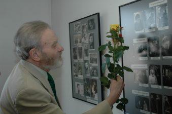 Aktorius Česlovas Pažemeckas mini savo 70 metų jubiliejinę sukaktį, 2007 m. kovas