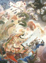 Algirdas Grinius. Paveikslo pavadinimas ir matmenys nežinomi. Aliejus, drobė, 1993–1996