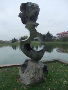 """Skulptūra """"Akmenų teatras"""". Astos Rimkūnienės nuotrauka"""