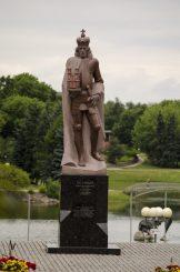 Paminklas Lietuvos didžiajam kunigaikščiui Aleksandrui. Astos Rimkūnienės nuotrauka