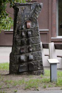 """Skulptūra """"Alternatyvi plokštuma"""". Astos Rimkūnienės nuotrauka"""
