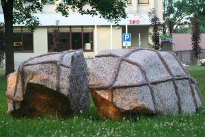 """Skulptūra """"Aš būsiu laisvas"""". Aivaro Neimonto nuotrauka"""