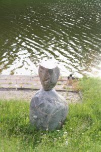 """Skulptūra """"Atviras"""". Aivaro Neimonto nuotrauka"""