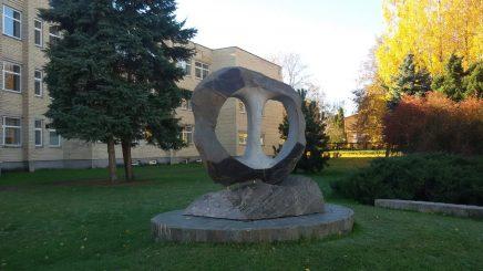 """Skulptūra """"Begalybė"""". Ilonos Biržytės nuotrauka"""