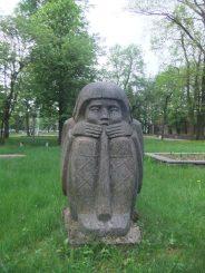 "Skulptūra ""Dūdorius"". Astos Rimkūnienės nuotrauka"