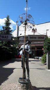 """Skulptūra """"Don Kichotas"""". Sigitos Marcinkevičienės nuotrauka"""