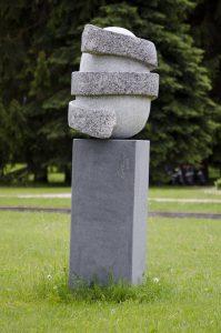 """Skulptūra """"Gyvenimo spiralė"""". Astos Rimkūnienės nuotrauka"""