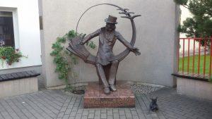 Paminklas Hansui Kristianui Andersenui. Ilonos Biržytės nuotrauka