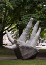 """Skulptūra """"Koralas"""". Astos Rimkūnienės nuotrauka"""