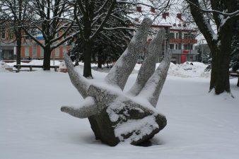 """Skulptūra """"Koralas"""". Aivaro Neimonto nuotrauka"""