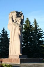 """Skulptūra """"Laisvės daina"""". Aivaro Neimonto nuotrauka"""