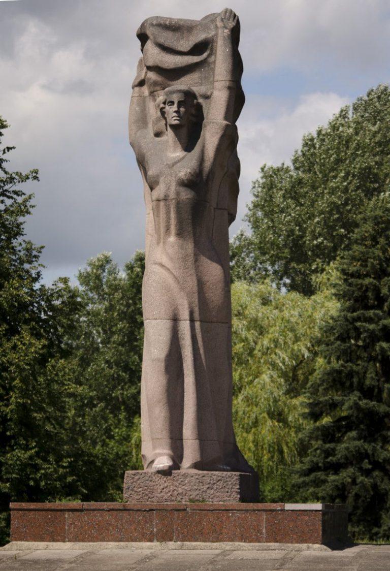 """Skulptūra """"Laisvės daina"""". Astos Rimkūnienės nuotrauka"""