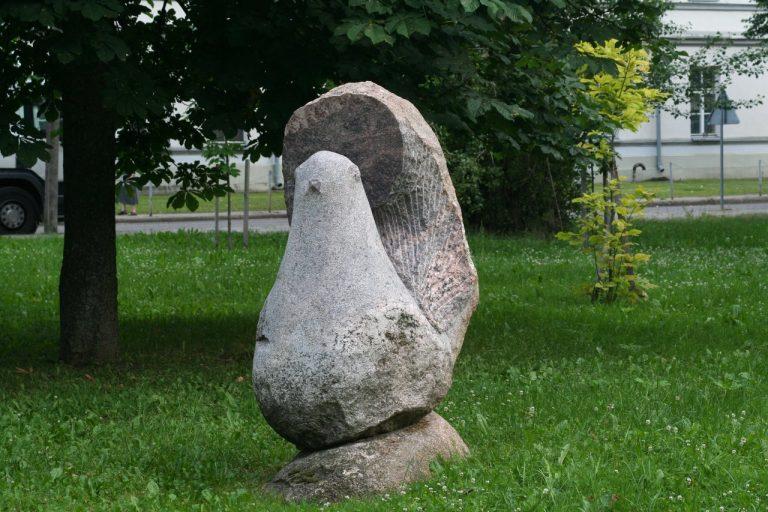 """Skulptūra """"Laisvės paukštis"""". Aivaro Neimonto nuotrauka"""