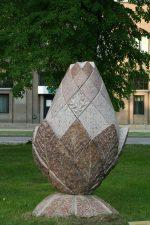 """Skulptūra """"Laisvės žiedas"""". Aivaro Neimonto nuotrauka"""