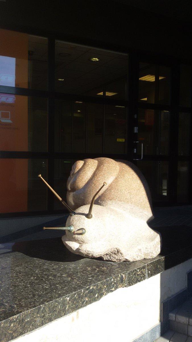 """Skulptūra """"Sraigė"""". Ilonos Biržytės nuotrauka"""