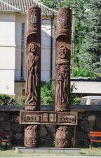 Paminklas Lietuvos vardo paminėjimo 1000-mečiui. Astos Rimkūnienės nuotrauka