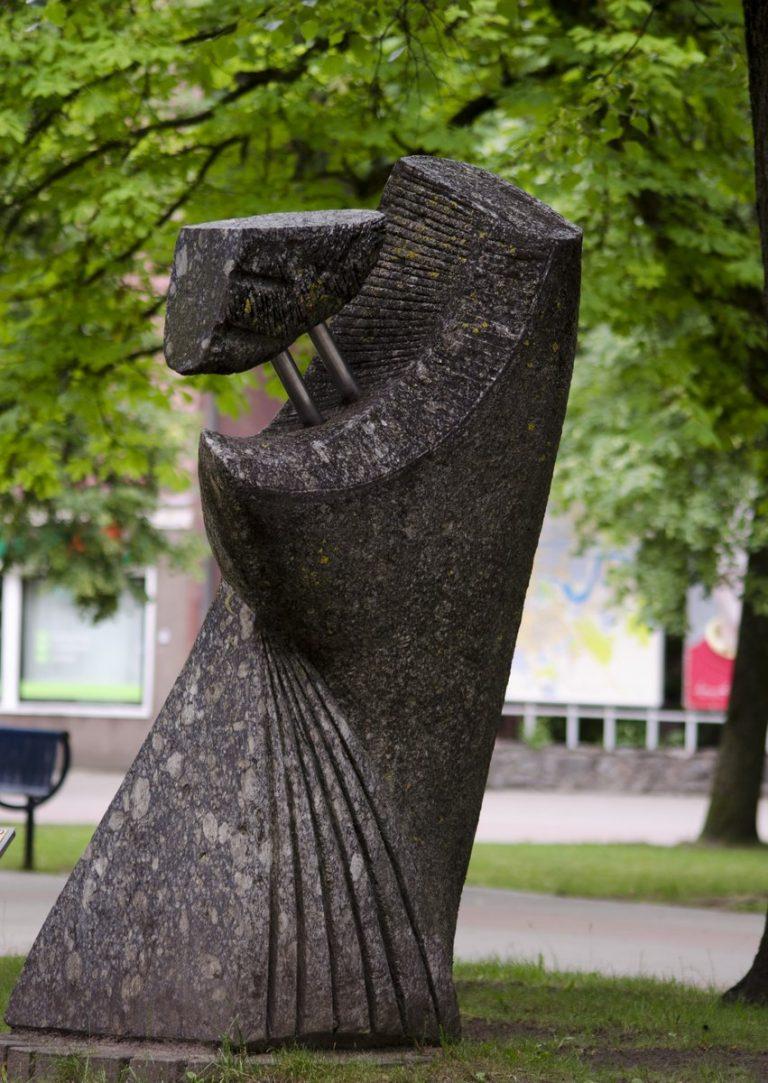 """Skulptūra """"Lizdas"""". Astos Rimkūnienės nuotrauka"""