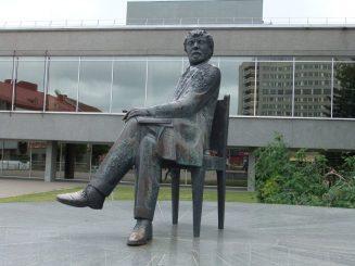 """""""Mintis"""", paminklas Juozui Miltiniui. Astos Rimkūnienės nuotrauka"""