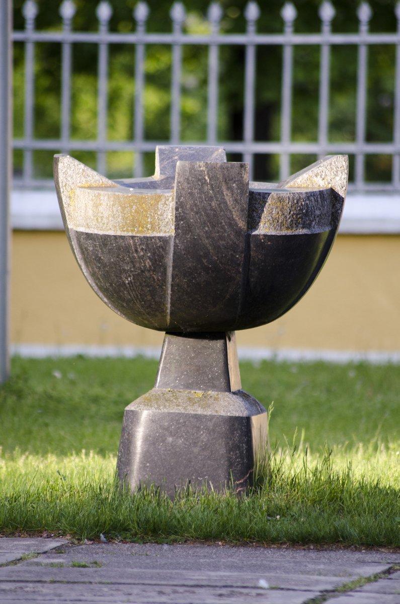 Paminklas Lietuvos Krikšto 600 metų jubiliejui. Astos Rimkūnienės nuotrauka