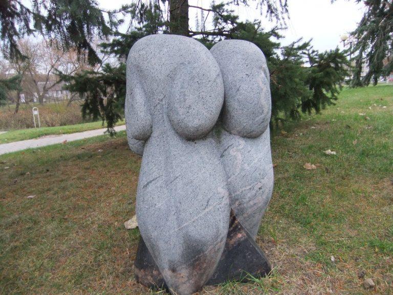 """Skulptūra """"Paparčio žiedas"""". Astos Rimkūnienės nuotrauka"""