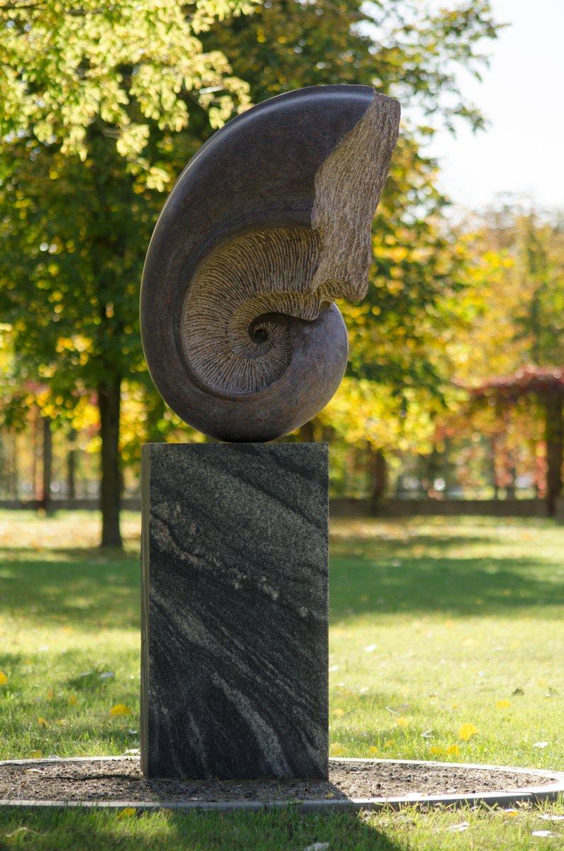 """Skulptūra """"Pasaulio pradžia"""". Astos Rimkūnienės nuotrauka"""