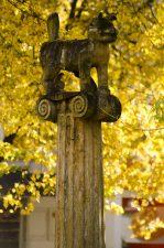 """Skulptūra """"Prie Nevėžio krantų kelkim koją kartu"""". Astos Rimkūnienės nuotrauka"""
