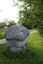 """Skulptūra """"Sizifas"""". Astos Rimkūnienės nuotrauka"""