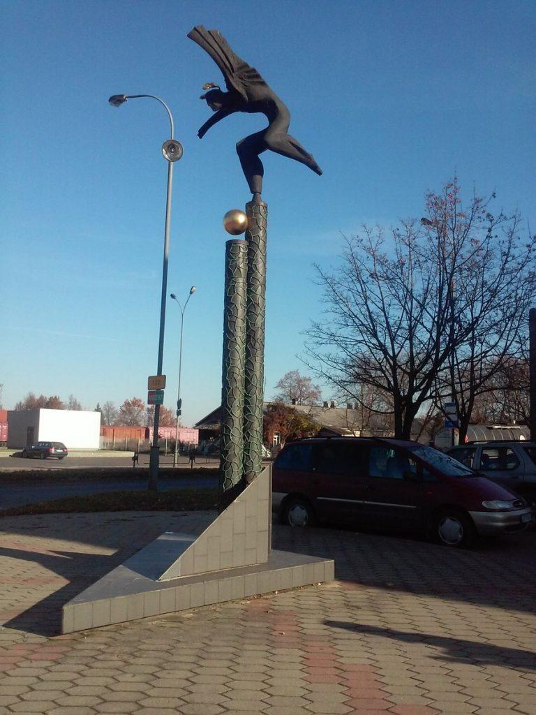 """Skulptūra """"Skrydis"""" (""""Polėkis""""). Gitanos Gritėnaitės nuotrauka"""