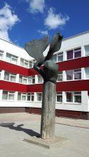 """Skulptūra """"Sparnai"""". Sigitos Marcinkevičienės nuotrauka"""