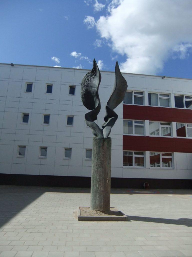 """Skulptūra """"Sparnai"""". Astos Rimkūnienės nuotrauka"""