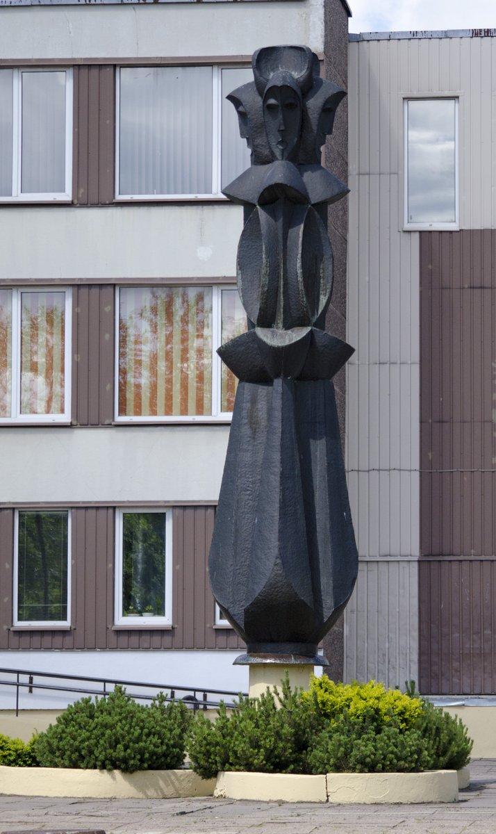"""Skulptūra """"Sutartinė"""". Astos Rimkūnienės nuotrauka"""