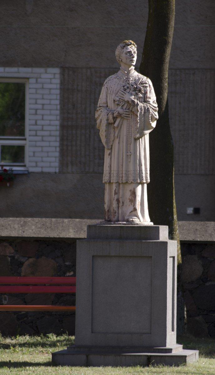 Paminklas Šv. Aloyzui. Astos Rimkūnienės nuotrauka