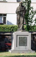 Šv. Jėzaus širdies statula. Astos Rimkūnienės nuotrauka
