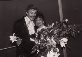 """R. Jansonas – Baronas Zeta (F. Leharas """"Linksmoji našlė""""), 1995 m. (Muzikiniame teatre)"""