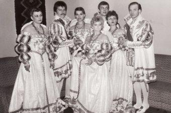 Baigiamasis egzaminas Konservatorijoje, 1987 m. Iš kairės: Zita Adukevičiūtė, Vytautas Kupšys, Asta Preidytė, Alma Gustytė, Rudolfas Jansonas, Vilmira Šamparaitė, Albinas Kėleris