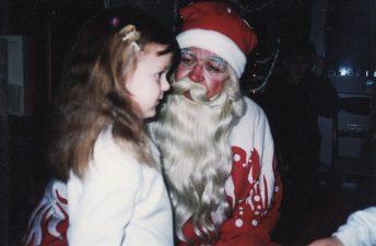 Kalėdų senelio stažas – toks pat ilgas, kaip ir darbo teatre. 2003 m. gruodžio 24 d.