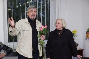 Jubiliejinė valanda su aktore Gražina Urbonavičiūte. 2016.10.14. Fotogr. V. Benašo