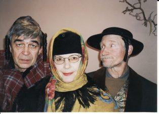 "Bertoltas Brechtas (Bertolt Brecht) ""Kaukazo kreidos ratas"" (rež. R. Banionis), 2005 m. Rudolfas Jansonas (kairėje) – Micha Loladzė, gydytojas"