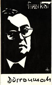 """Spektaklio """"Fizikai"""" programos viršelis. 1967 m."""